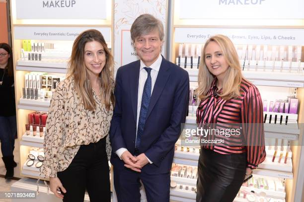 Katia Beauchamp, Founder and CEO of Birchbox, Lauren Brindley, Gobal Vice President Beauty and Personal Care at Walgreens, and Alex Gourlay, Co-COO...
