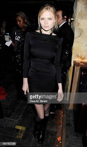 Katia Elizarova attends the launch of Tonteria Mexican Bar and Restaurant on Sloane Square on October 25 2012 in London England