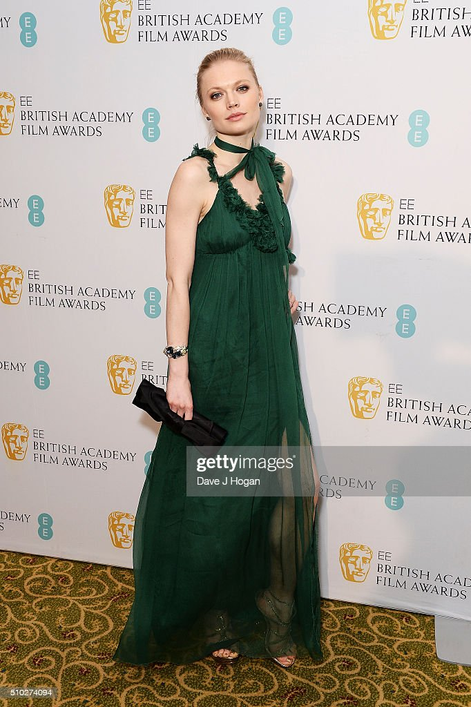 Katia Elizarova attends the official After Party Dinner for the EE British Academy Film Awards at The Grosvenor House Hotel on February 14, 2016 in London, England.