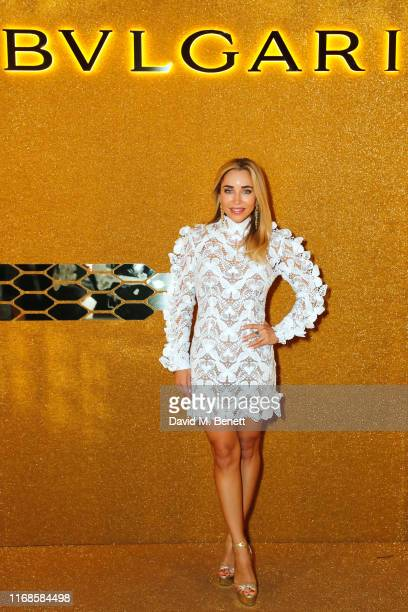 Katia Francesconi attends the Bvlgari Serpenti Seduttori launch at the Roundhouse on September 15 2019 in London England