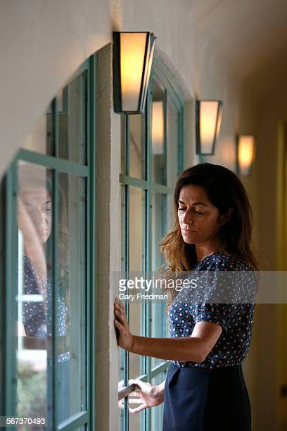 Katia Gruppioni is photographed in the law offices of Shernoff Bidart Echeverra Bentley on November 18 2013 in Beverly Hills She is the aunt to Alice...