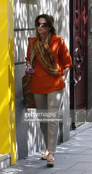 Katia Guerrero is seen on June 14 2012 in Madrid Spain