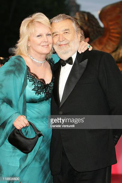 "Katia Ricciarelli and Pupi Avati during 2005 Venice Film Festival - ""La Seconda Notte Di Nozze"" Premiere - Arrivals in Venice, Italy."