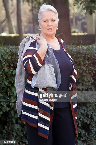 Katia Ricciarelli attend the 'Faccia d'Angelo' TV Series Photocall at Casa del Cinema on March 7, 2012 in Rome, Italy.