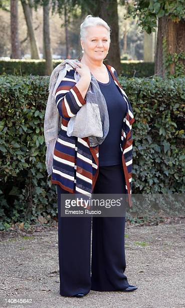 Katia Ricciarelli attends the 'Faccia d'Angelo' TV Series Photocall at Casa del Cinema on March 7, 2012 in Rome, Italy.