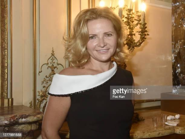 "Katia Solotsinskaya attends the Cocktail ""Karine Ohana And Co"" Hosted by Katia Solotsinskaya, Karine Ohana and Mikhail Makarov as part of Paris..."