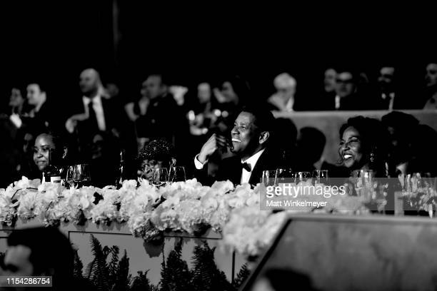 Katia Washington, Spike Lee, Denzel Washington, and Pauletta Washington attend the 47th AFI Life Achievement Award honoring Denzel Washington at...