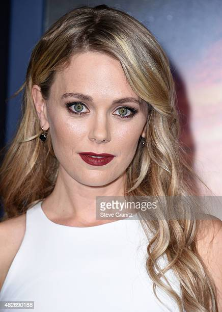 Katia Winter arrives at the 'Jupiter Ascending' Los Angeles Premiere at TCL Chinese Theatre on February 2 2015 in Hollywood California