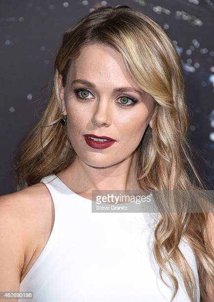 """Katia Winter arrives at the """"Jupiter Ascending"""" Los Angeles Premiere at TCL Chinese Theatre on February 2, 2015 in Hollywood, California."""