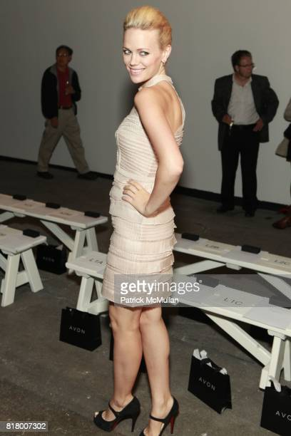 Katia Winter attends CYNTHIA STEFFE Spring 2011 Fashion Show at Eyebeam on September 12 2010 in New York City