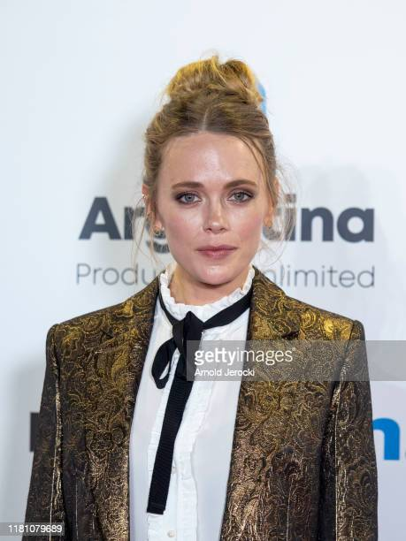 Katia Winter attends the opening ceremony of MIPCOM 2019 on October 14, 2019 in Cannes, France.