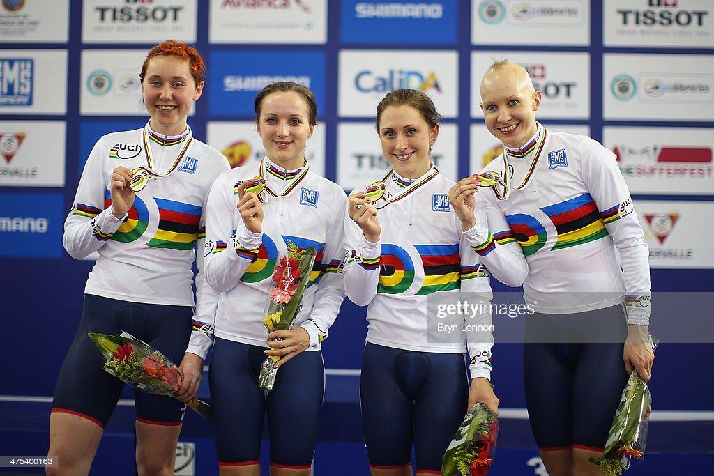 UCI Track Cycling World Championships - Day Two : News Photo