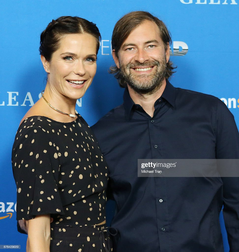 Katie Aselton And Mark Duplass Arrive At The Los Angeles Premiere Of Amazon  Studiosu0027 U0027