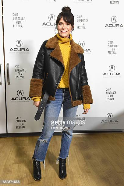 Katie Aselton attends Fun Mom Dinner At The Acura Studio At Sundance Film Festival 2017 during the 2017 Park City on January 27 2017 in Park City Utah