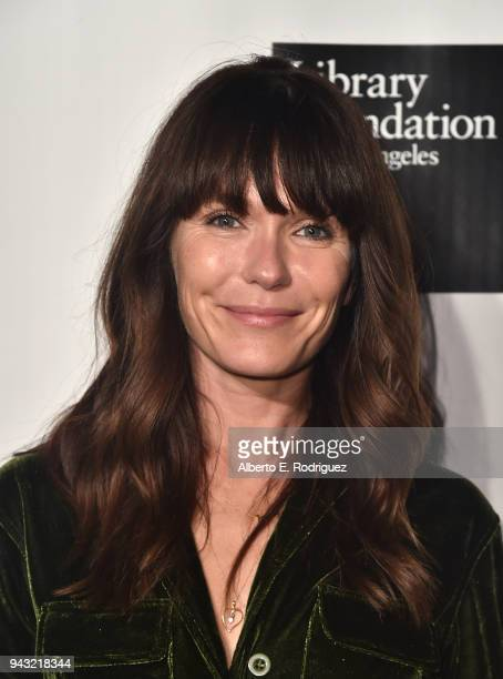 Katie Aselton attends the 10th Annual Young Literati Toast at Hudson Loft on April 7 2018 in Los Angeles California