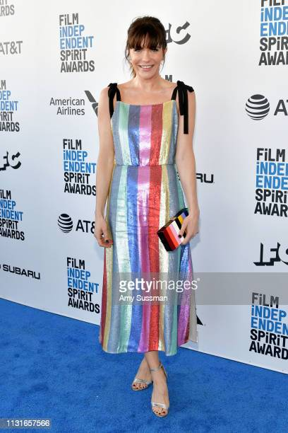 Katie Aselton attends the 2019 Film Independent Spirit Awards on February 23 2019 in Santa Monica California