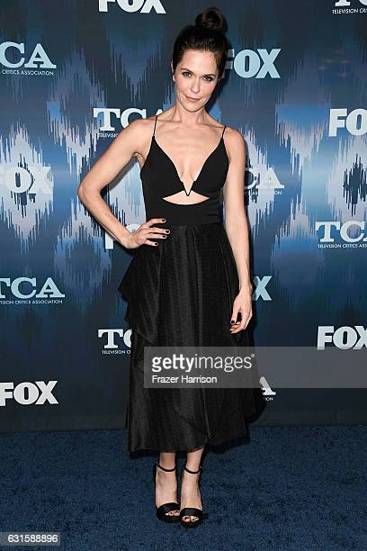 Katie Aselton attends the FOX AllStar Party during the 2017 Winter TCA Tour at Langham Hotel on January 11 2017 in Pasadena California