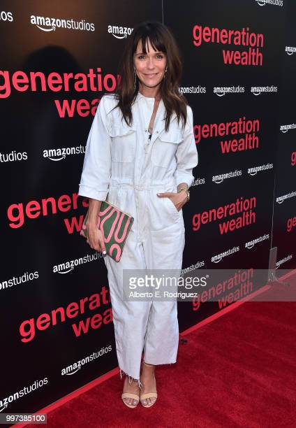 Katie Aselton attends the premiere of Amazon Studios' 'Generation Wealth' at ArcLight Hollywood on July 12 2018 in Hollywood California