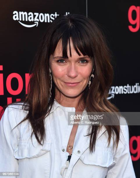 Katie Aselton attends the premiere of Amazon Studios' Generation Wealth at ArcLight Hollywood on July 12 2018 in Hollywood California