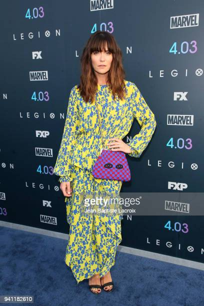 Katie Aselton attends the premiere of FX's 'Legion' Season 2 at DGA Theater on April 2 2018 in Los Angeles California