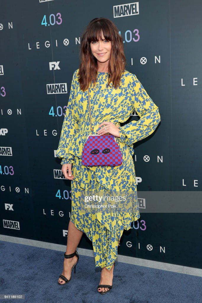 Katie Aselton attends the premiere of FX's 'Legion' Season 2 at DGA Theater on April 2, 2018 in Los Angeles, California.