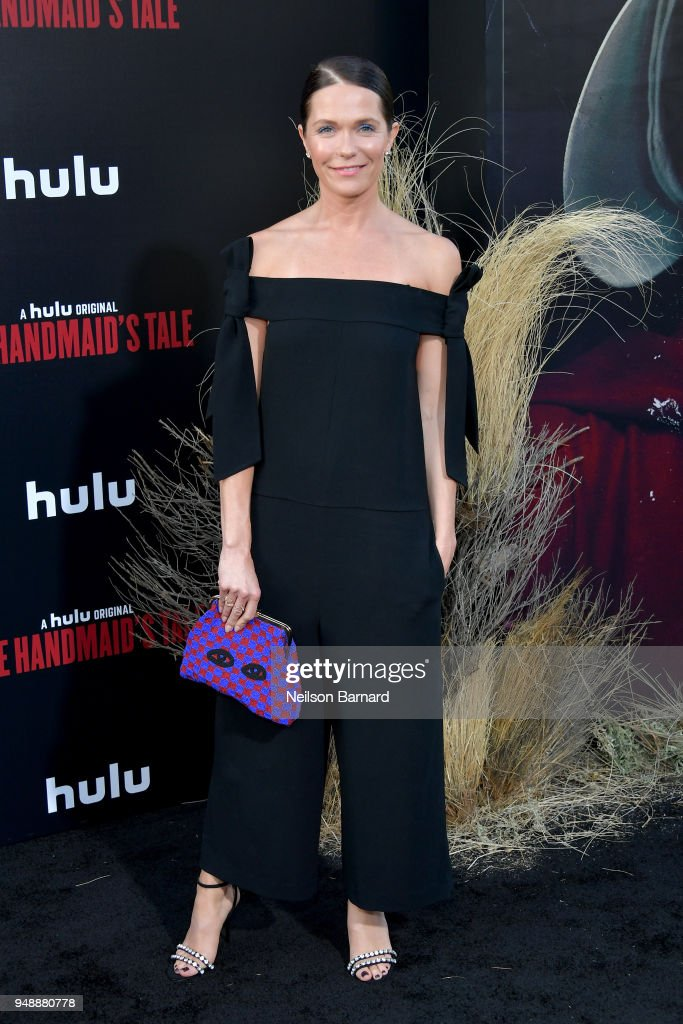 Katie Aselton attends the premiere of Hulu's 'The Handmaid's Tale' Season 2 at TCL Chinese Theatre on April 19, 2018 in Hollywood, California.