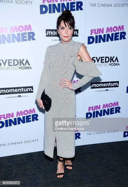 "Katie Aselton attends the screening Of ""Fun Mom Dinner"" at Landmark Sunshine Cinema on August 1, 2017 in New York City."