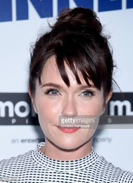 Katie Aselton attends the screening Of Fun Mom Dinner at Landmark Sunshine Cinema on August 1 2017 in New York City