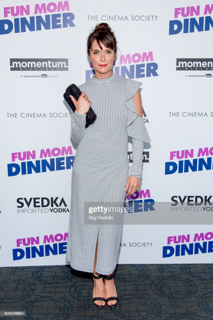 """Momentum Pictures With The Cinema Society & SVEDKA Host A Screening Of """"Fun Mom Dinner"""""""
