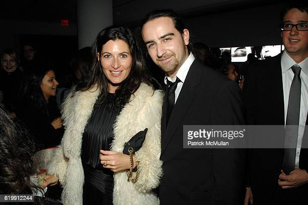 Katie Austin and Nick Manley attend A MILK GALLERY PROJECT Presents TRANSIT by ALEXI LUBOMIRSKI at Milk Gallery on October 21 2008 in New York City