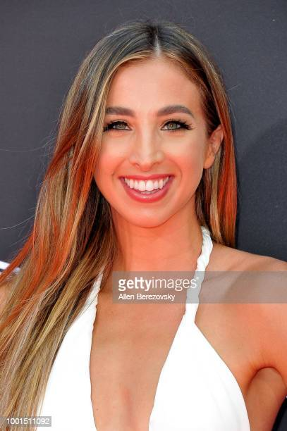 Katie Austin attends The 2018 ESPYS at Microsoft Theater on July 18 2018 in Los Angeles California