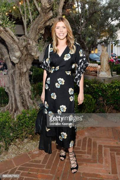 Katie Bofshever attends Minka Kelly and Barrett Ward CoHost the FashionABLE Equal Pay Day kickoff Dinner at Gracias Madre on March 29 2017 in Los...