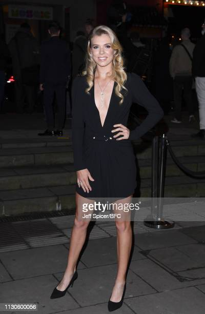 Katie Boulter attends the Fabulous Fund Fair during London Fashion Week February 2019 at The Roundhouse on February 18 2019 in London England