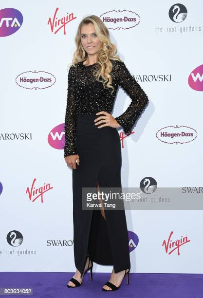 Katie Boulter attends the WTA PreWimbledon party at Kensington Roof Gardens on June 29 2017 in London England