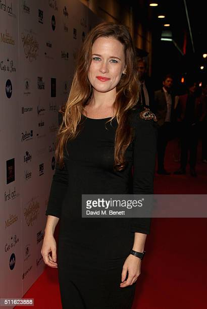 Katie Brayben attends the 16th Annual WhatsOnStage Awards at The Prince of Wales Theatre on February 21 2016 in London England