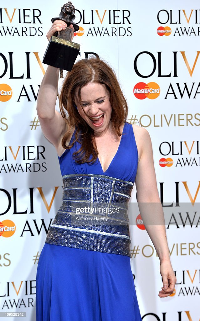 The Olivier Awards - Winners Room