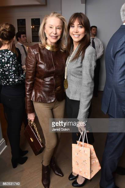 Katie Brown and Rachel Brown attend AVENUE celebrates the 'Not It' Girls of the Art World on November 29 2017 at 101 West 78th Street in New York City