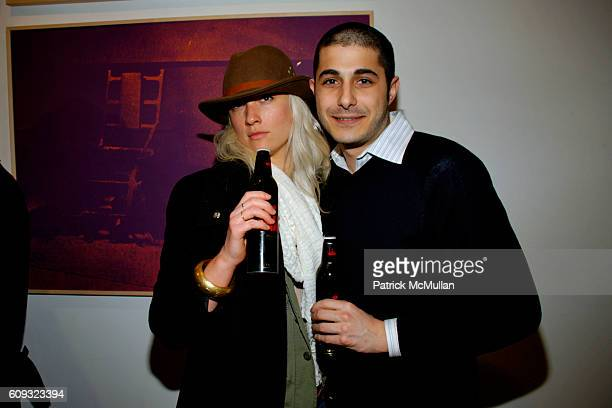 Katie Butler and Russ Nadler attend John McEnroe and Patty Smyth Host Cocktails to Celebrate ROBERT MOLNAR Fall 2007 Menswear Collection at John...