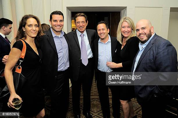 Katie Calhoun Howie Burke Justin Weiss Kerri Helliwell and Mark Kurshner attend An Evening Honoring Joe Namath at The Plaza Hotel on October 20 2016...