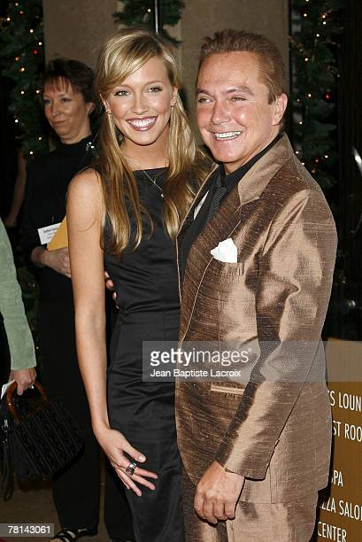Katie Cassidy and David Cassidy arrive at the 9th annual Family Television Awards held at the Beverly Hilton Hotel on November 28, 2007 in Los...