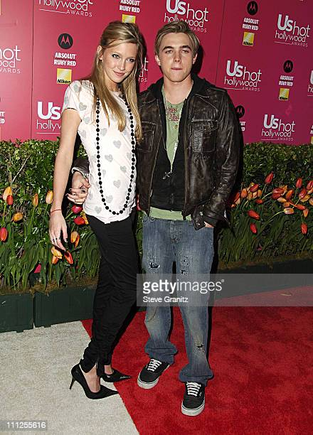 Katie Cassidy and Jesse McCartney during 2006 US Weekly Hot Hollywood Awards - Arrivals at Republic Restaurant & Lounge in Los Angeles, California,...