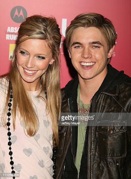 Katie Cassidy and Jesse McCartney during 2006 US Weekly Hot Hollywood Awards Arrivals at Republic Restaurant Lounge in Los Angeles California United...