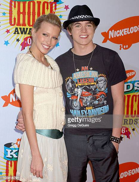 Katie Cassidy and Jesse McCartney during Nickelodeon's 19th Annual Kids' Choice Awards - Arrivals at Pauley Pavilion in Westwood, California, United...