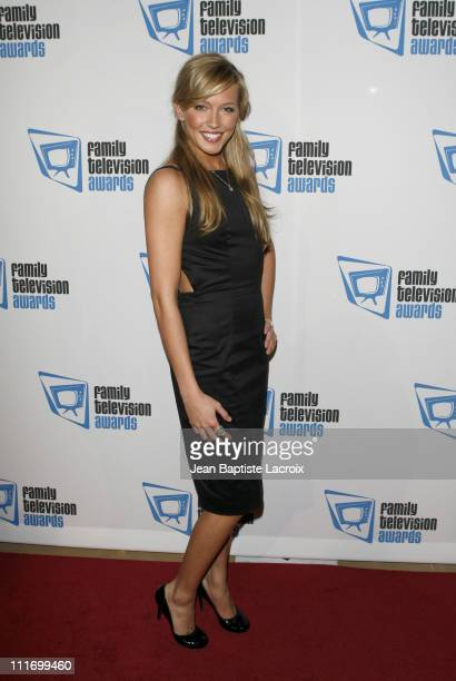 Katie Cassidy arrives at the 9th annual Family Television Awards held at the Beverly Hilton Hotel on November 28 2007 in Los Angeles California