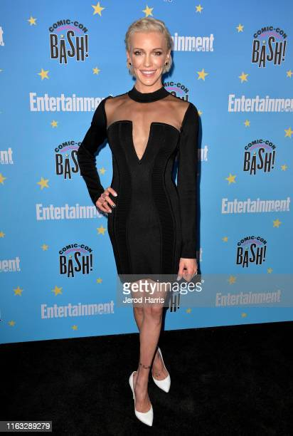Katie Cassidy attends Entertainment Weekly Comic-Con Celebration at Float at Hard Rock Hotel San Diego on July 20, 2019 in San Diego, California.