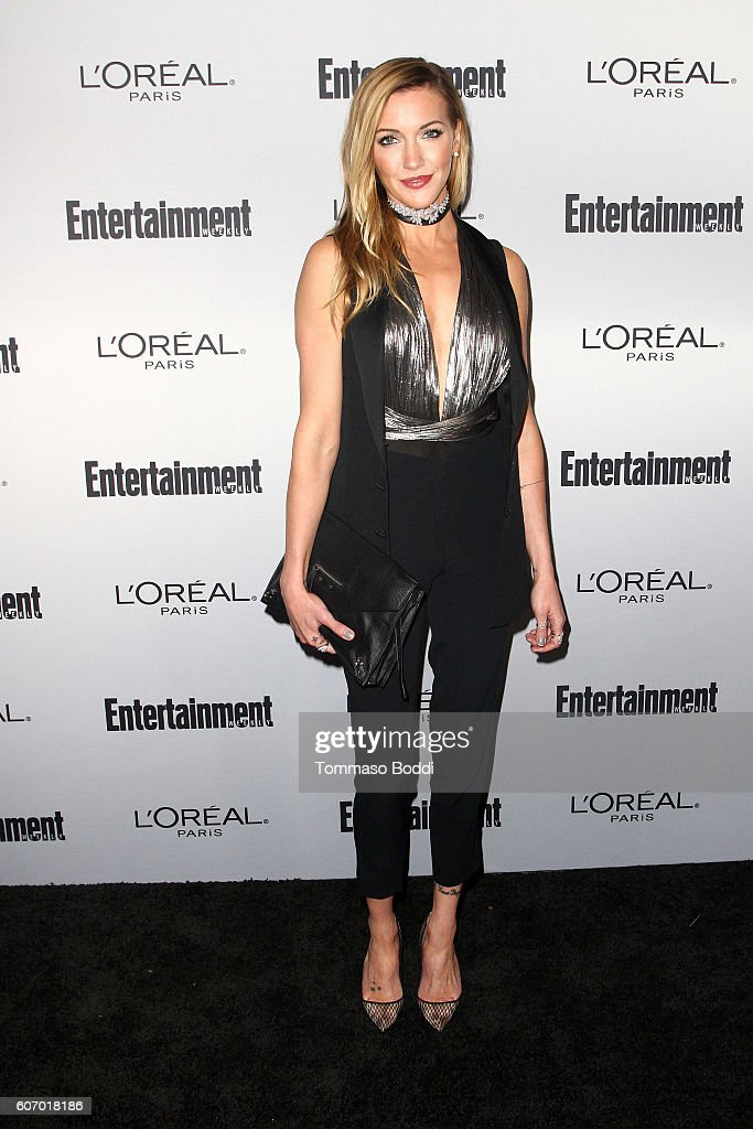 Katie Cassidy attends the Entertainment Weekly's 2016 Pre-Emmy Party held at Nightingale Plaza on September 16, 2016 in Los Angeles, California.