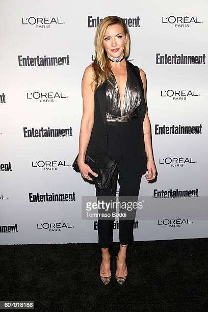 Katie Cassidy attends the Entertainment Weekly's 2016 PreEmmy Party held at Nightingale Plaza on September 16 2016 in Los Angeles California