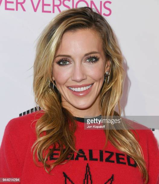 Katie Cassidy attends the Premiere Of Sony Pictures Home Entertainment And Off The Dock's Cover Versions at Landmark Regent on April 9 2018 in Los...