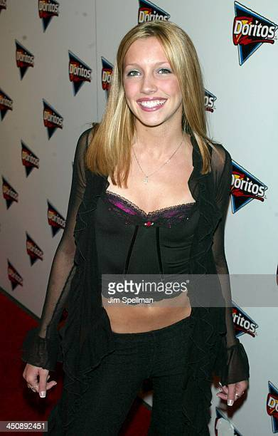 Katie Cassidy during Doritos Salsa Launch with Enrique Iglesias at Tribeca Rooftop in New York City New York United States