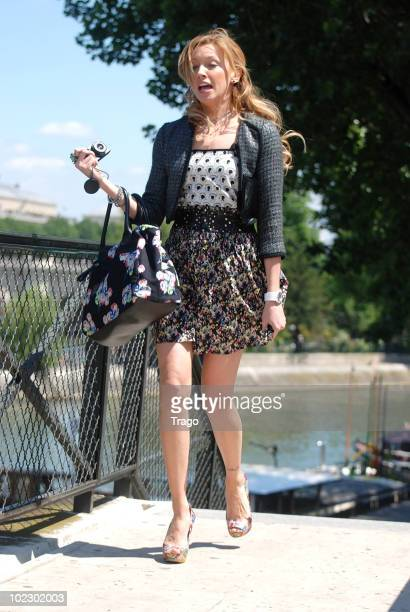 Katie Cassidy on location for 'Monte-Carlo' in Paris on June 22, 2010 in Paris, France.